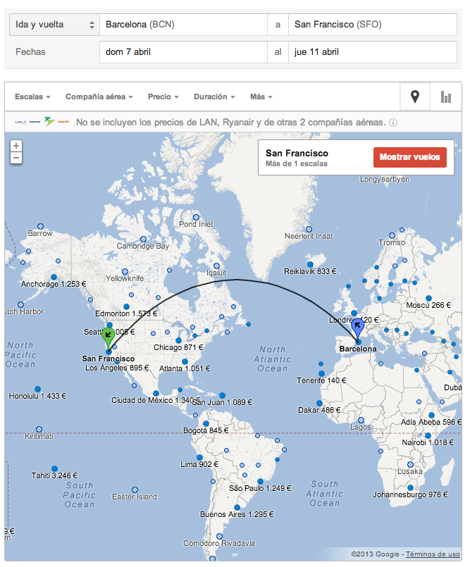 google flights espana 2