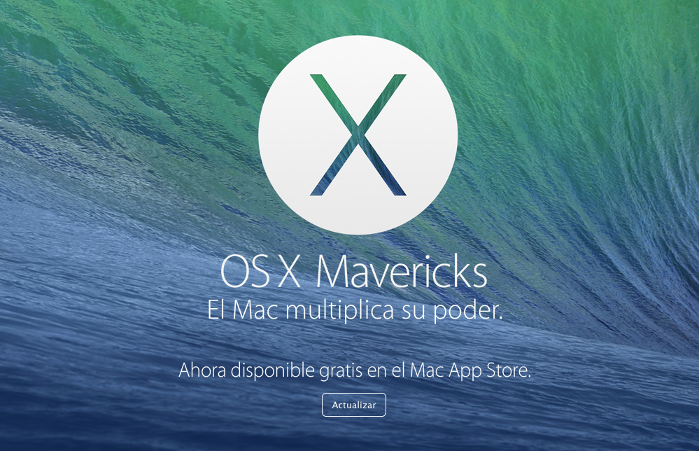 mac os mavericks