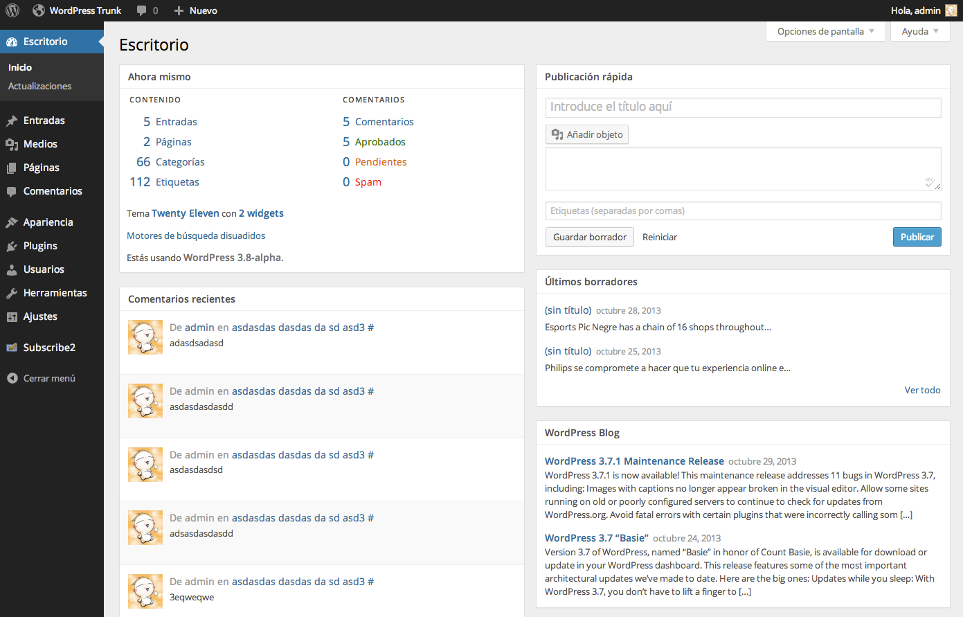 wordpress-3-8-dashboard