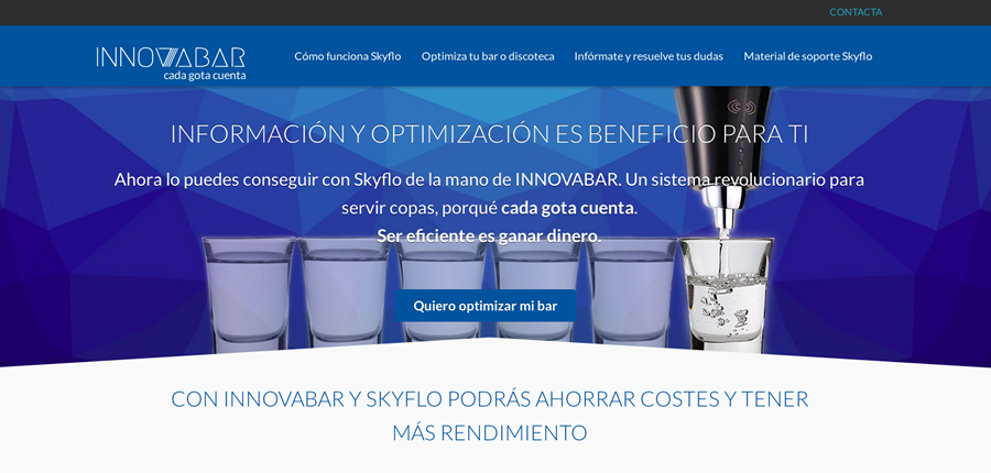 Tapones y software bares para optimizar costes alcohol